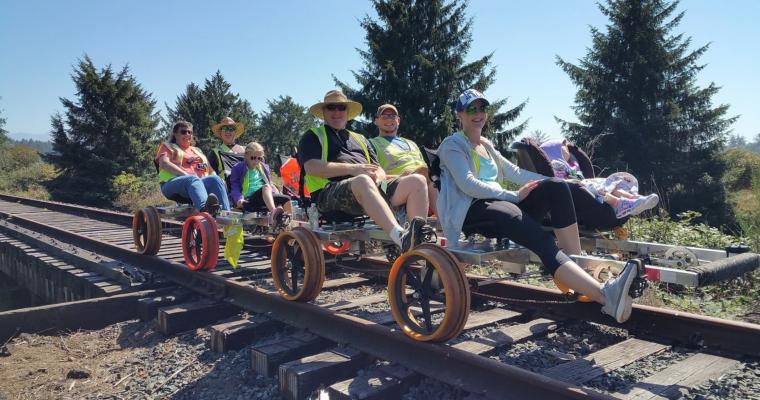 Oregon Coast Railriders, Bay City, Oregon